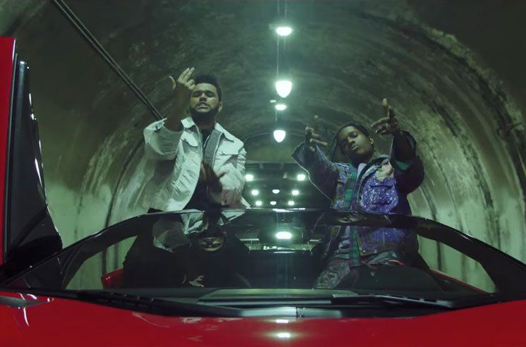The Weeknd - Reminder (ft. Drake, A$AP Rocky, Travis Scott, YG, French Montana) (Video)