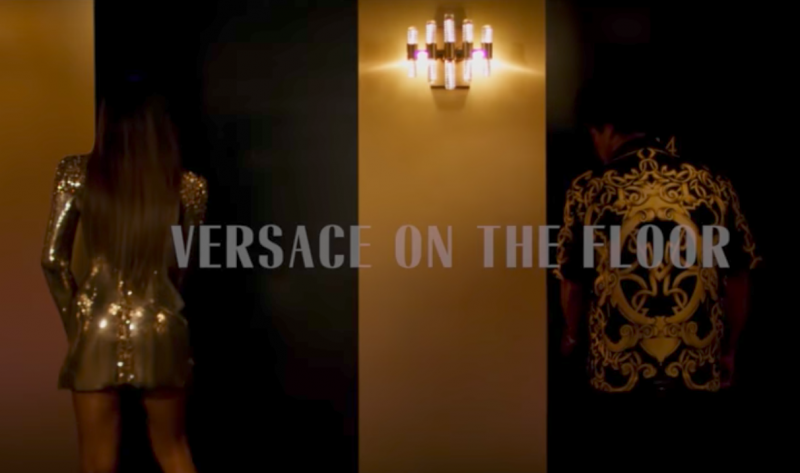 Bruno Mars - Versace On The Floor (Video)